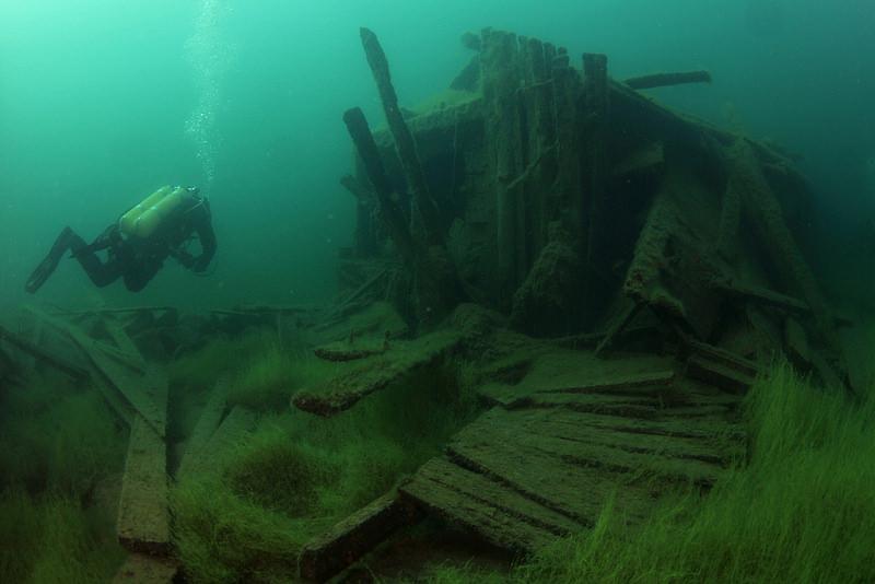 Una prigione subacquea abbandonata