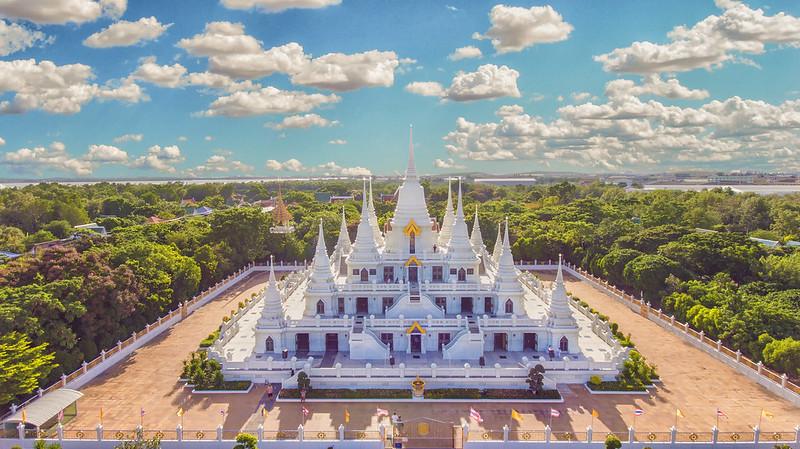 Wat Asokaram panoramica