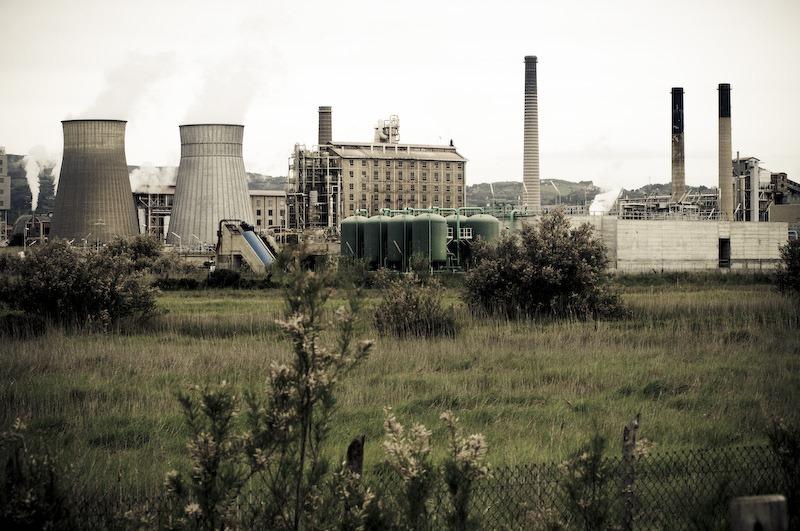 Rosignano Solvay la fabbrica