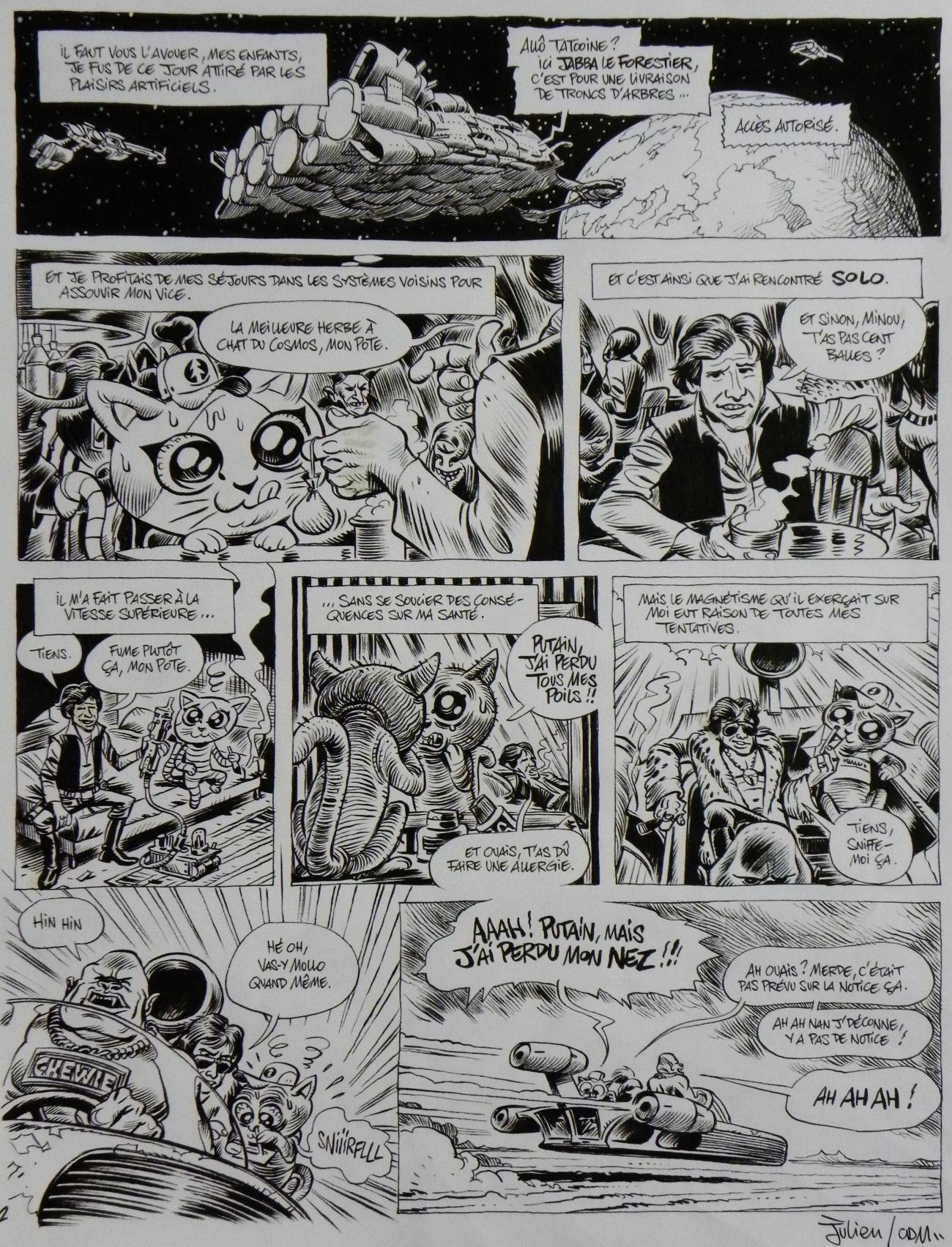 Star Wars La Verite Sur Jabba The Hutt Page 2 Julien
