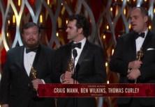 Oscars 2015 Meilleur mixage son2
