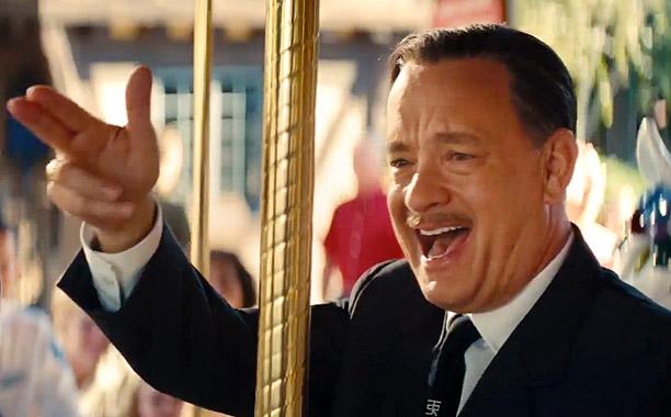 SAVING MR. BANKS - TRAILER NO. 1 -- Pictured: Tom Hanks (Screengrab)