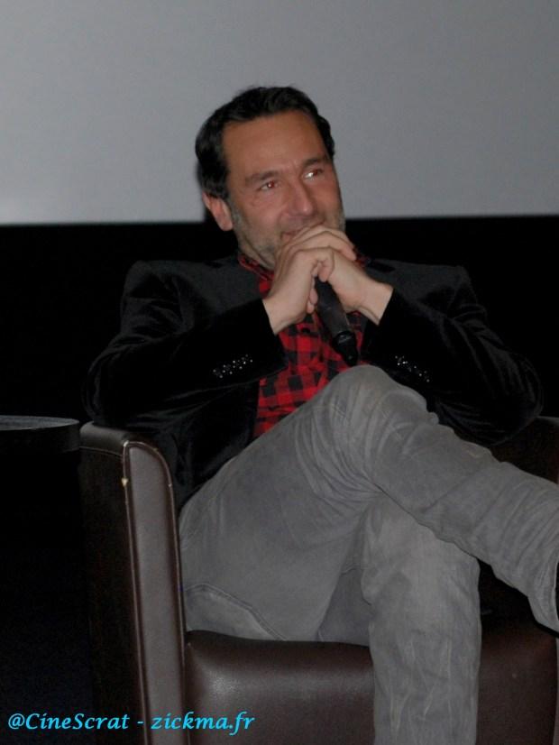 Gilles Lellouche lors du débat à l'UGC Ciné Cité Rosny