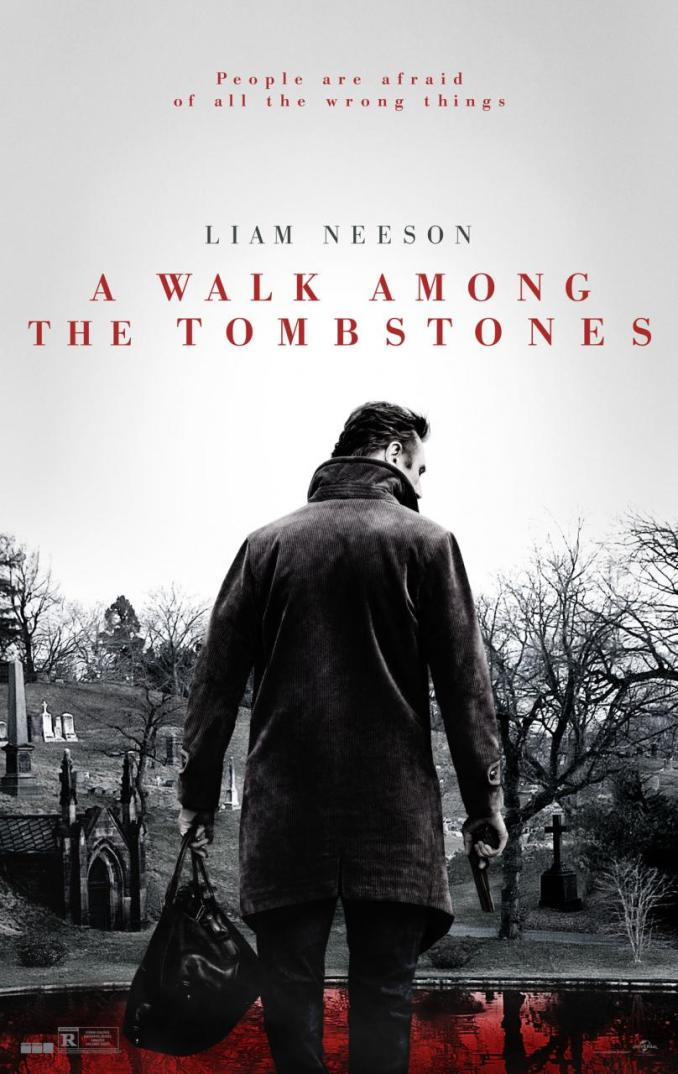 A Walk Among the Tombstones Poster US