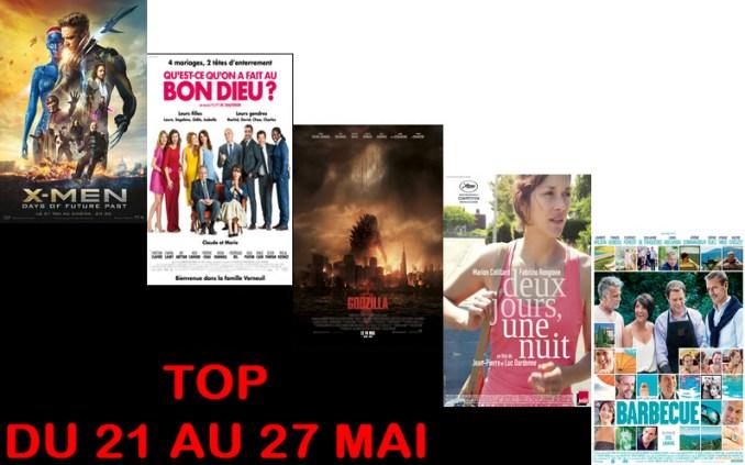 TOP 21 AU 27 MAI