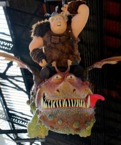 Dragons 2 gare de Paris Lyon13