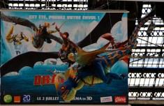 Dragons 2 gare de Paris Lyon2