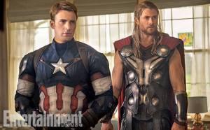 avengers 2- captain & thor