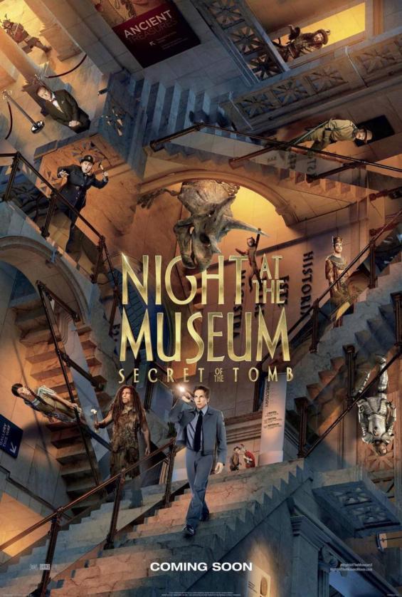 La nuit au musée 3 - new poster