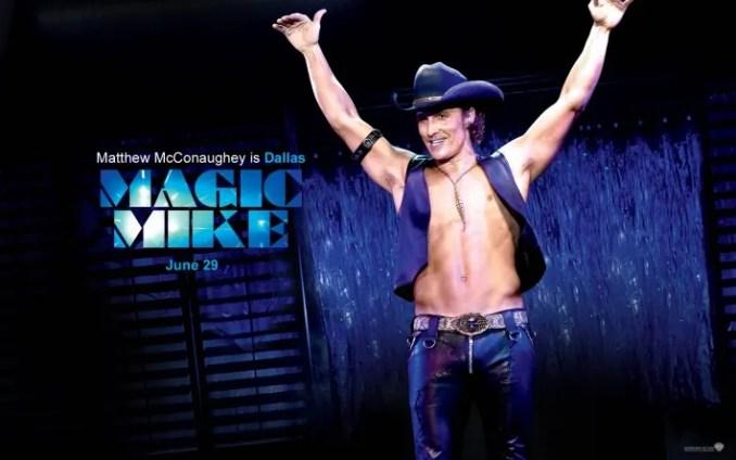 Matthew McConaughey magixc mike