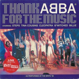 Thank Abba for the music Billie Piper