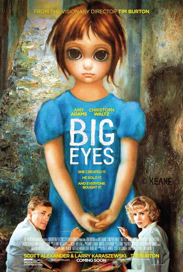 Tim Burton - Big Eye poster