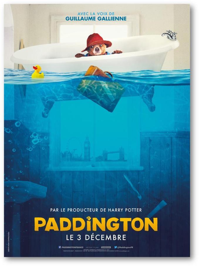 Paddington nouvelle affiche