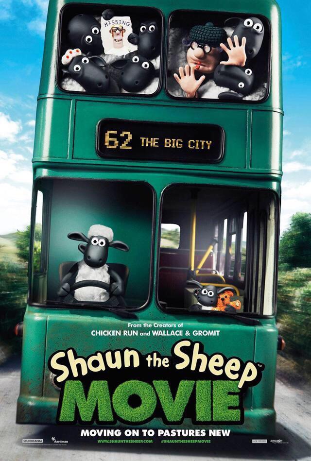 Shaun le mouton affiche vo