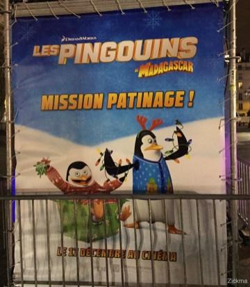 Pingouins de Madagascar patinoire de Paris22