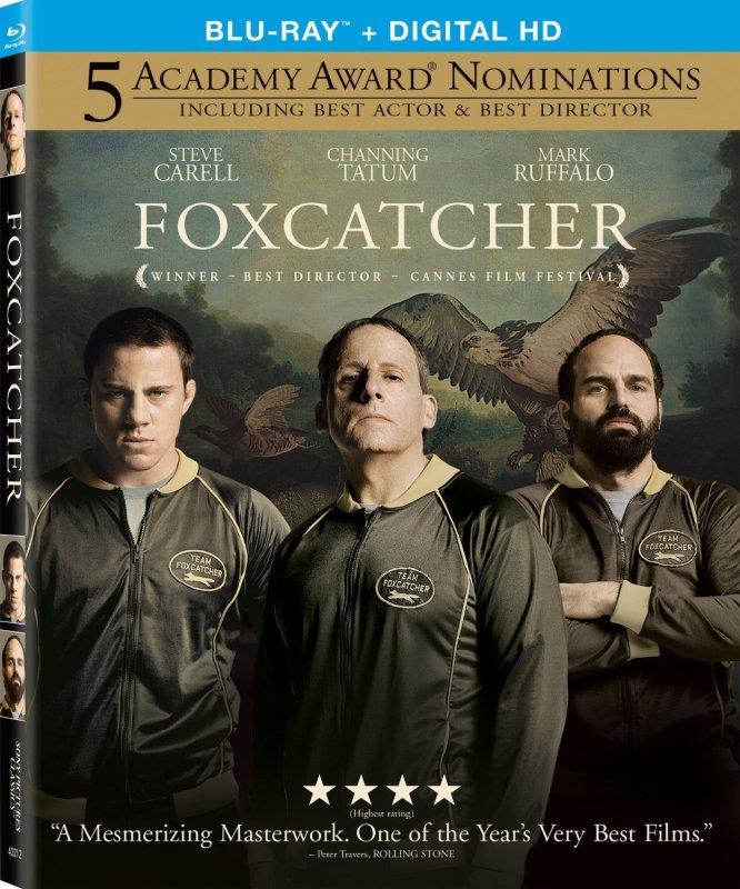 FoxCatcher bluray US