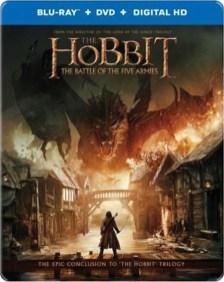Hobbit 3 Steelbook Bluray Best Buy