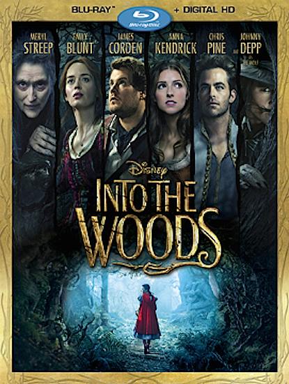 Into the Woods, Promenons-nous dans les bois bluray US