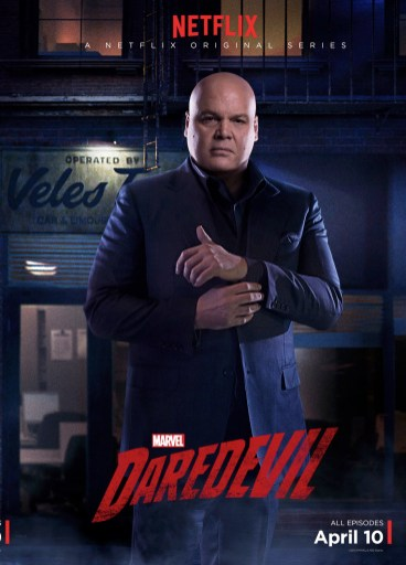 Daredevil posters personnages1