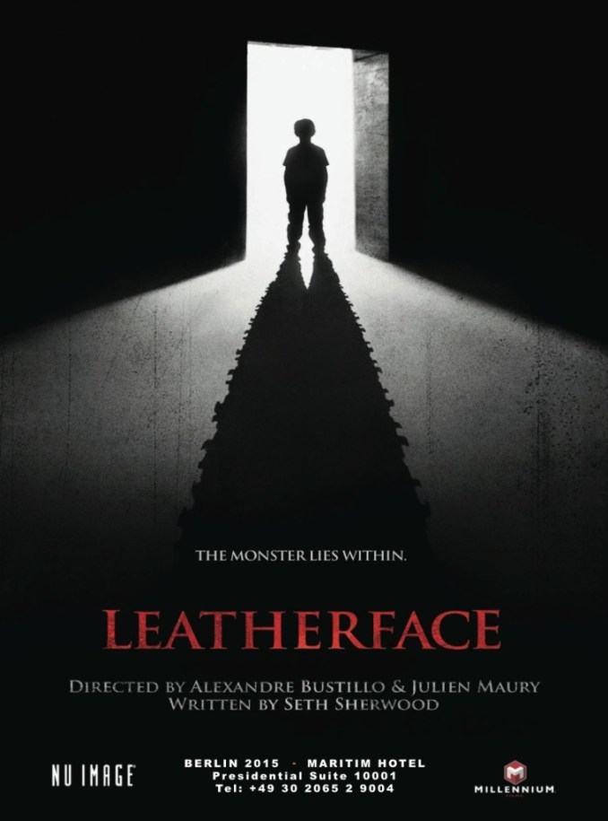 Leatherface promo poster