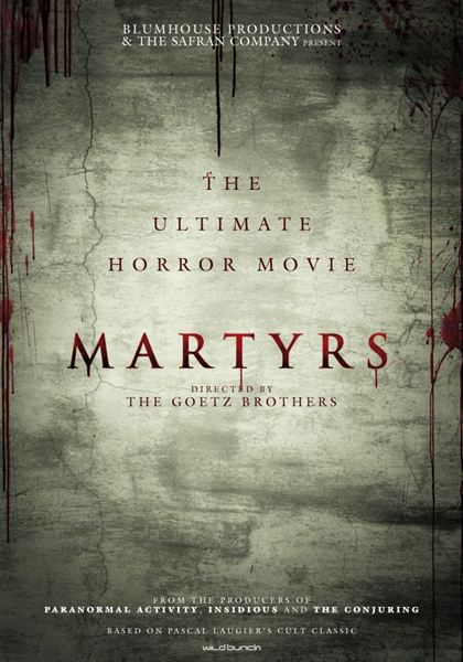 Martyrs remake US poster