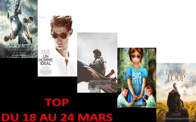 TOP 18 AU 24 MARS