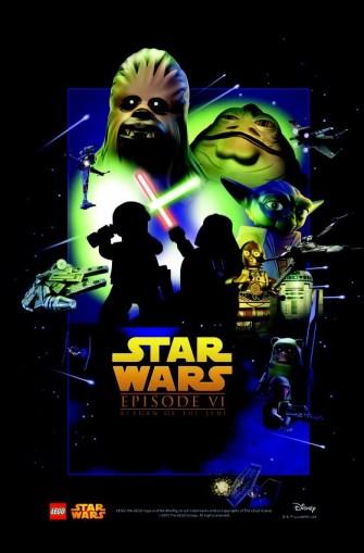 Star Wars Lego ep 6