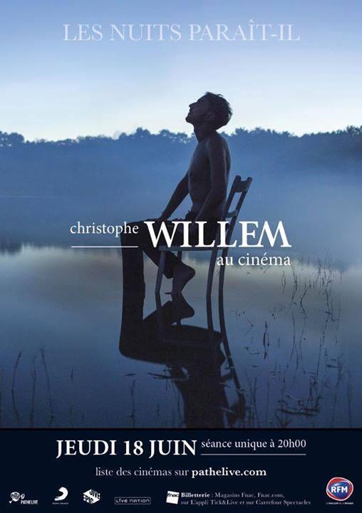 Willem les nuits parait il au cinéma