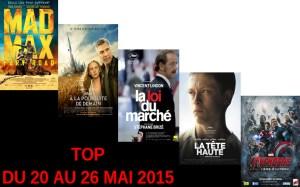 TOP 20 AU 26 MAI 2015