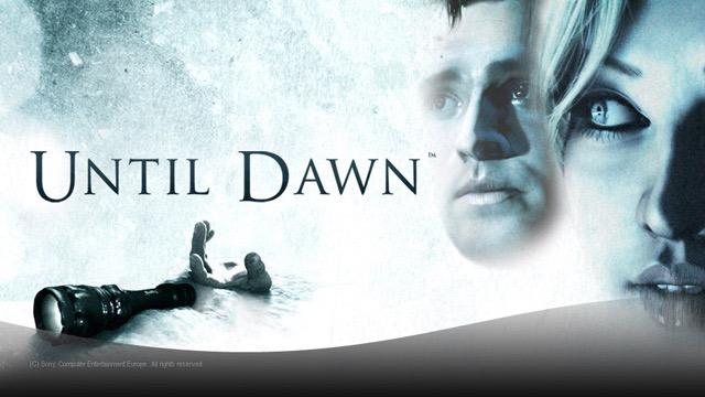 Until Dawn game trailer2