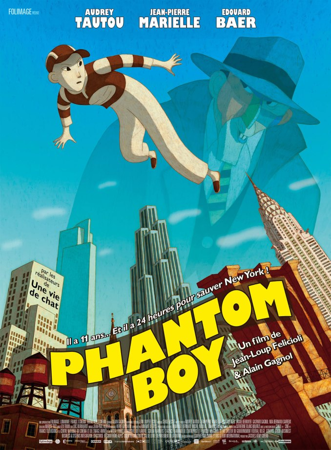 phantom boy affiche
