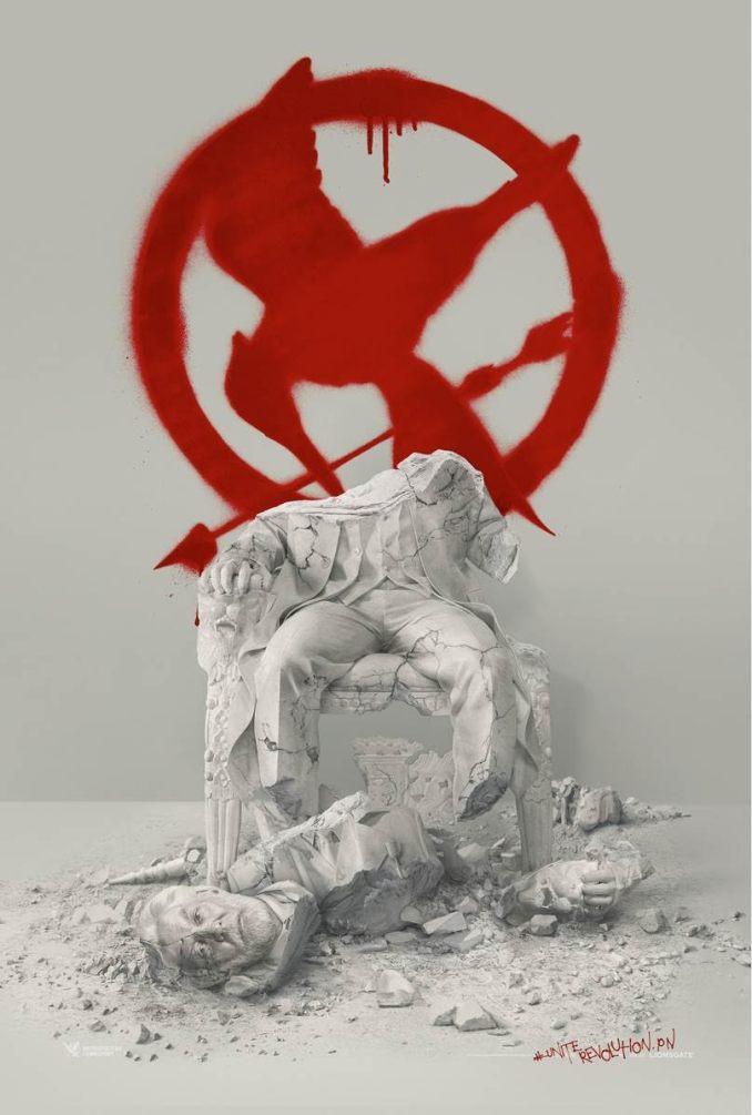 Hunger Games La Révolte - Partie 2-Affiche propagande