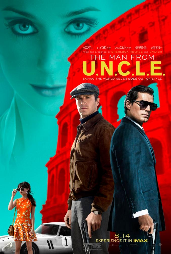 The Man from U.N.C.L.E. afiche 2