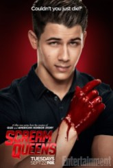 Scream Queens bloody poster sang1