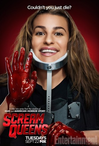 Scream Queens bloody poster sang13