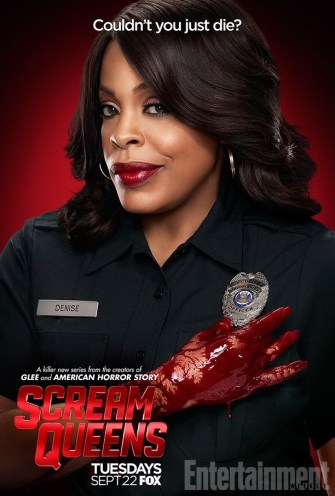 Scream Queens bloody poster sang15