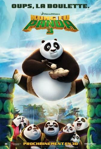 Kungfu Panda 3 VF poster