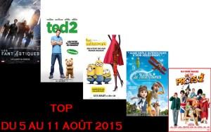 TOP 5 AU 11-8-2015