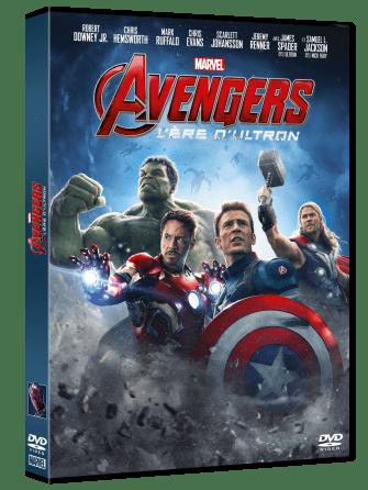 Avengers Ultron Jaquette DVD