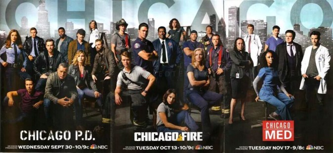 Chicago P.D - Chicago Fire - Chicago Med