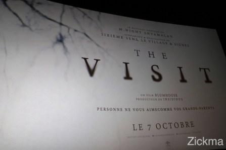 The visit Avant-première1