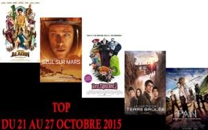 TOP 21 au 27-10-2015