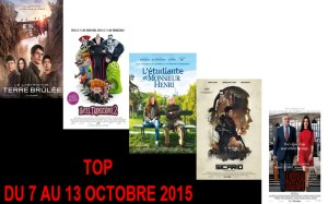 TOP 7 AU 13-10-2015