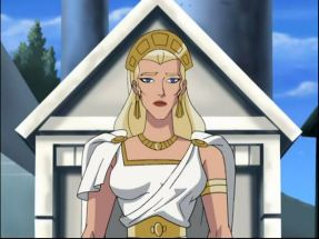 Hippolyte blonde wonder woman