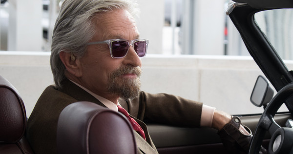 Marvel's Ant-Man Hank Pym (Michael Douglas) Photo Credit: Zade Rosenthal © Marvel 2014