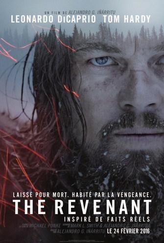 THE REVENANT - affiche FR 2 Leo