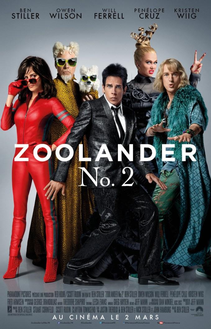 ZOOLANDER 2 - affiche du film