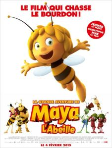 a grande aventure de maya l'abeille