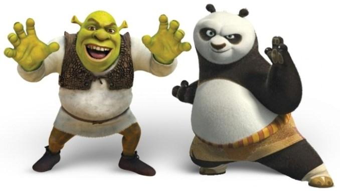 Kung Fu Panda-Shrek
