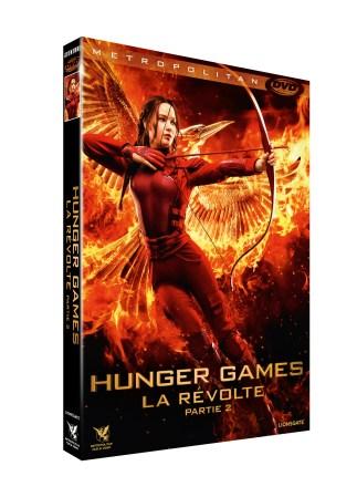 3D FOUR DVDV HUNGER GAMES 3 P2